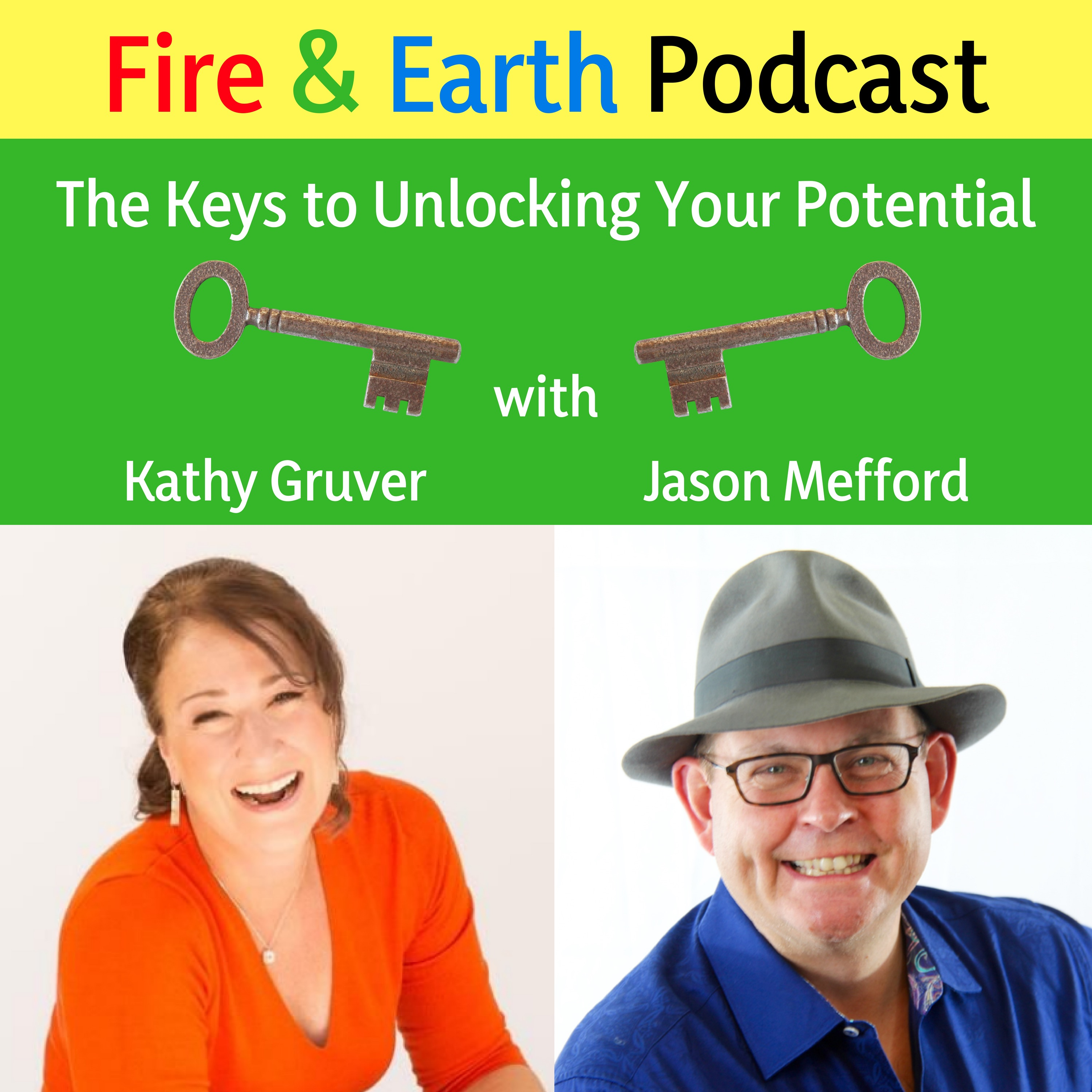 Fire and Earth Podcast - Logo