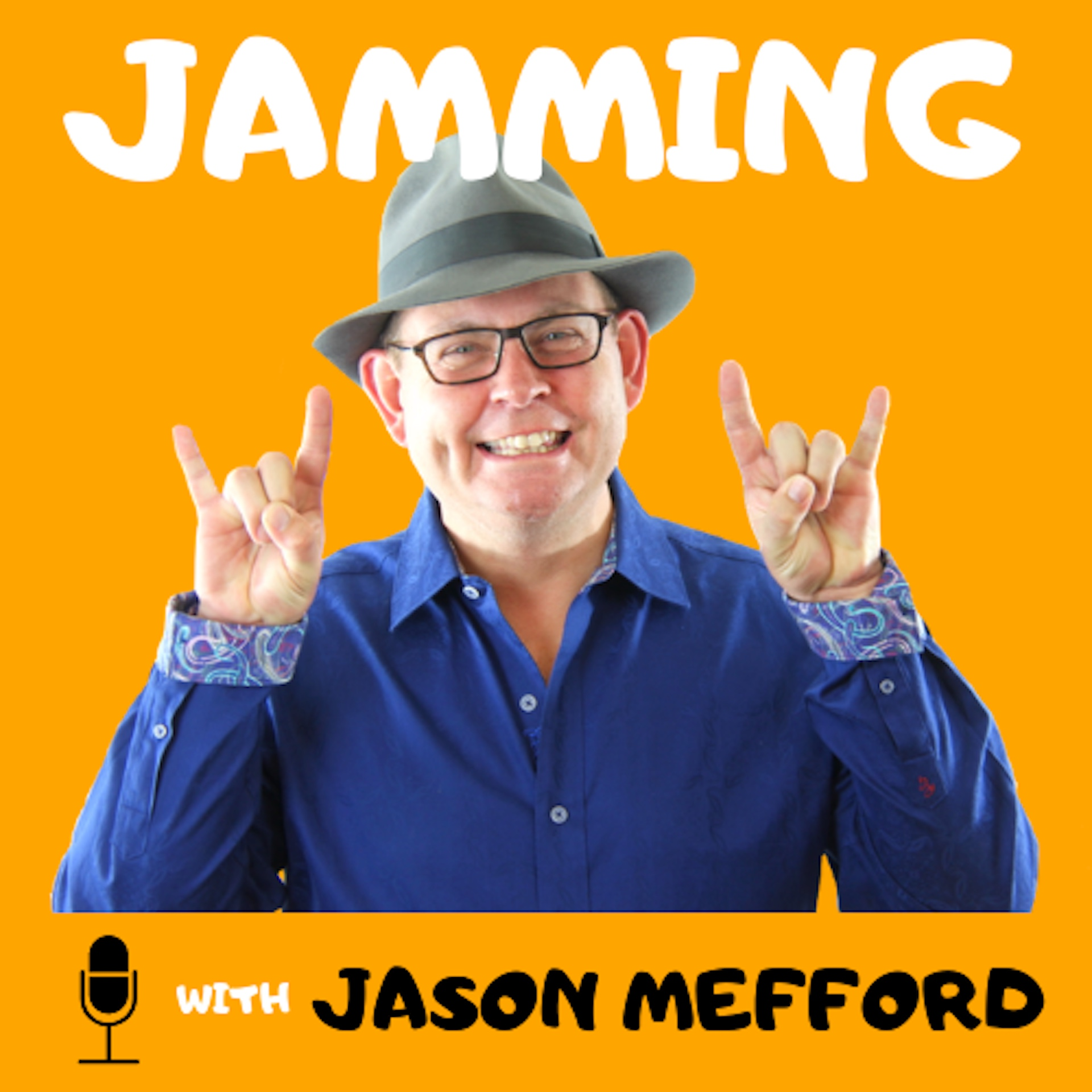 Jamming with Jason - Podcast Logo