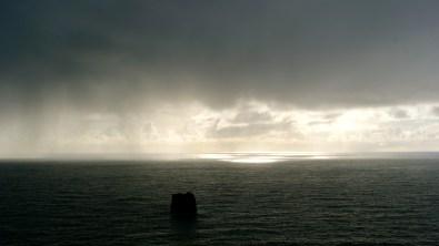 Stormy Sunlit Seas
