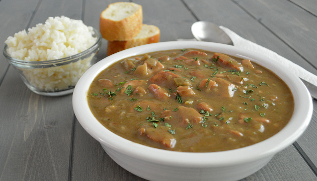 Chicken and Sausage Gumbo from www.jasonscooking.com
