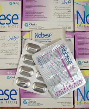 Nobese (Sibutramine) 15mg capsule