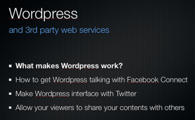 jason tucker - wordpress 3rd party web services