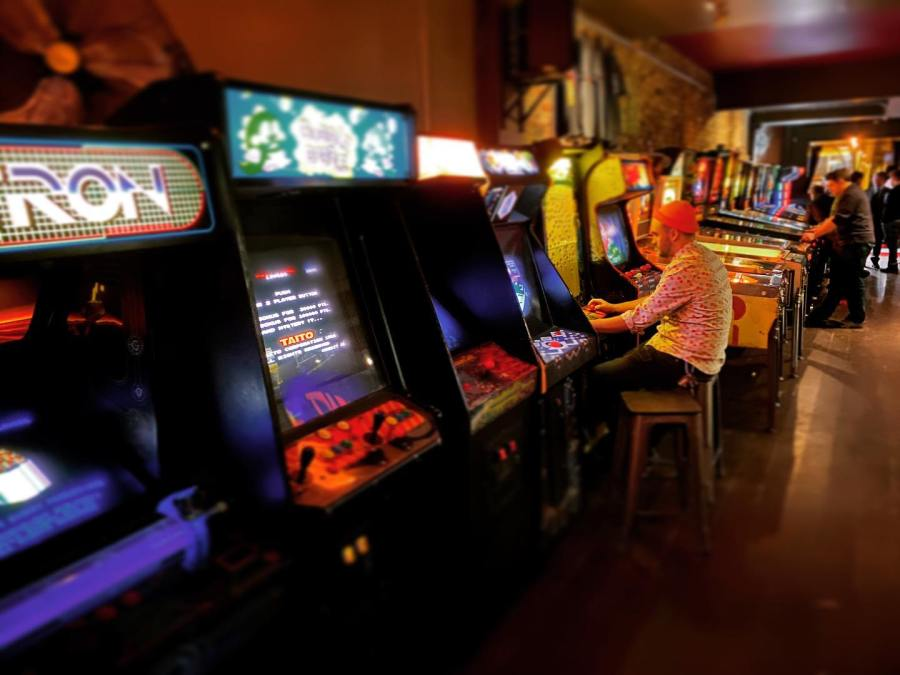 Tilt Arcade Bar Toronto