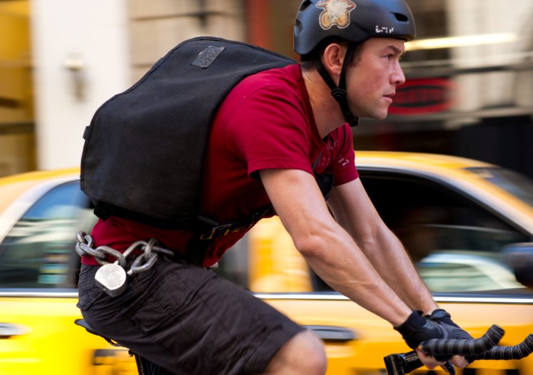 Oh Comely review of Premium Rush (2012), directed by David Koepp and starring Joseph Gordon-Levitt.