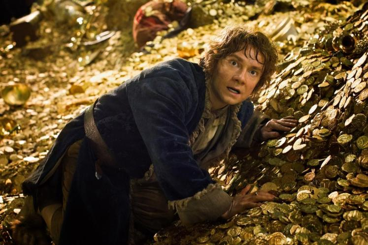 The Hobbit: The Desolation of Smaug (2013), directed by Peter Jackson and starring Martin Freeman and Ian McKellen.