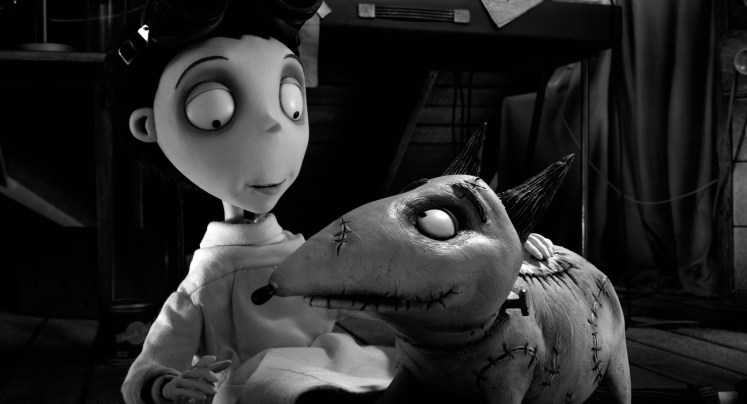 Oh Comely review of Frankenweenie (2012), directed by Tim Burton.