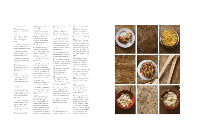 A Nearly Impossible Meal, published in Oh Comely Issue Twenty-Three, photographs by Liz Seabrook.