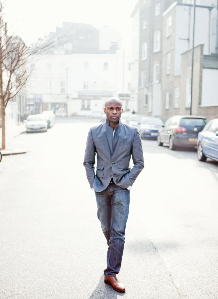 David Gyasi interview, published in Oh Comely Issue Ten. Photograph by Andrew Unwin.