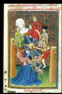 "Christine de Pizan, ""The Book of the Queen,"" ca. 1410-1414; British Library, Harley MS 4431, f129r"