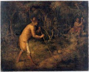 """The Devil and Tom Walker,"" John Quidor, 1856, Cleveland Museum of Art, http://www.clevelandart.org/art/1967.18"
