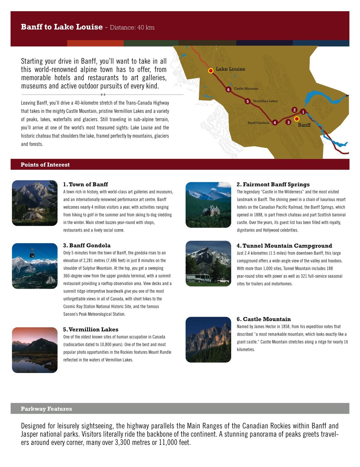 Banff to Louis Lake – Alberta, Canada   Jasper National Park