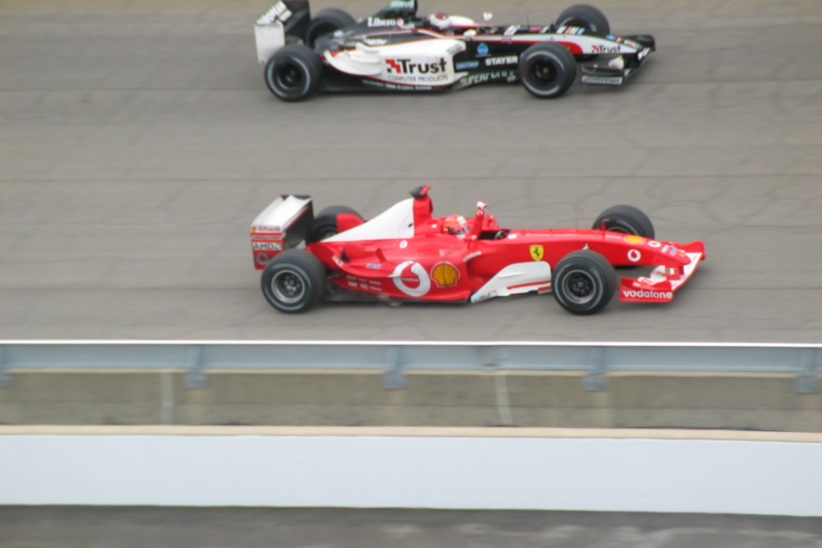 Formule 1 Grand Prix van Amerika 2003 Slide 14