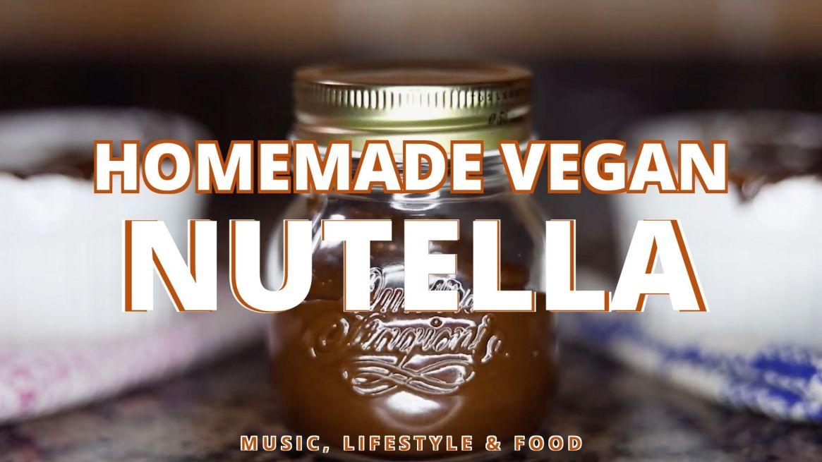 Homemade Vegan Nutella (GF) Easy Recipe | Music, Lifestyle & Food
