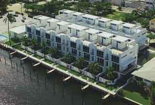 Aqua Lofts water front condo with deeded boat docks in Pompano Beach
