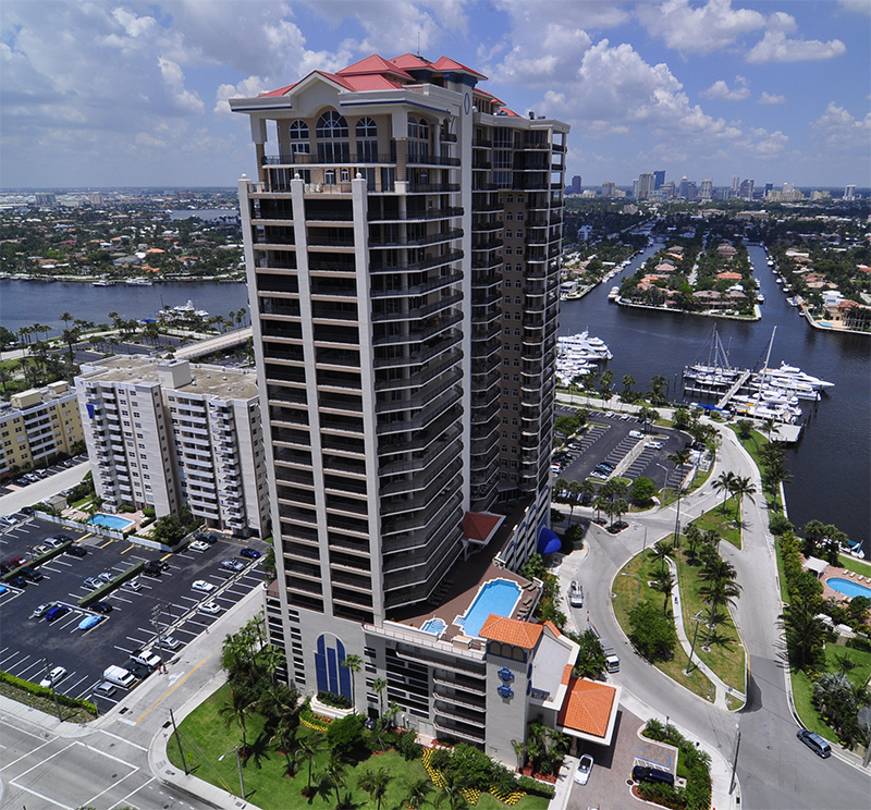 Jackson Towers Condos on Fort Lauderdale Beach