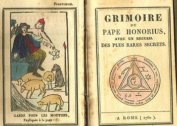 Deutsch: Grimoire Papst Honorius, Rom 1760