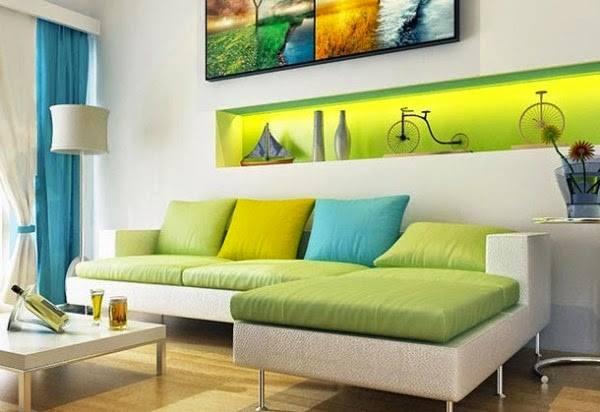 desain ruang tamu minimalis modern 3