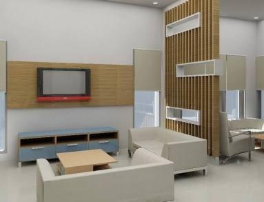 desain ruang tamu minimalis modern 9