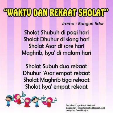 lagu anak anak islami 8