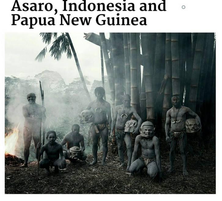 suku terasing asaro, indonesia
