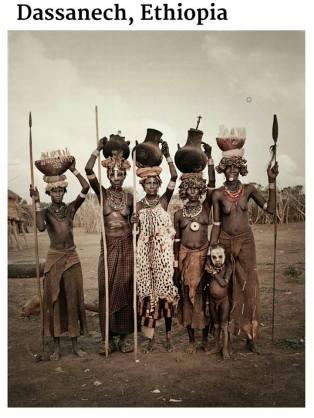 suku terasing dassanech, etiopia