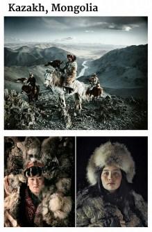 suku terasing kazakh, mongolia