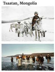 suku terasing tsaatan, mongolia