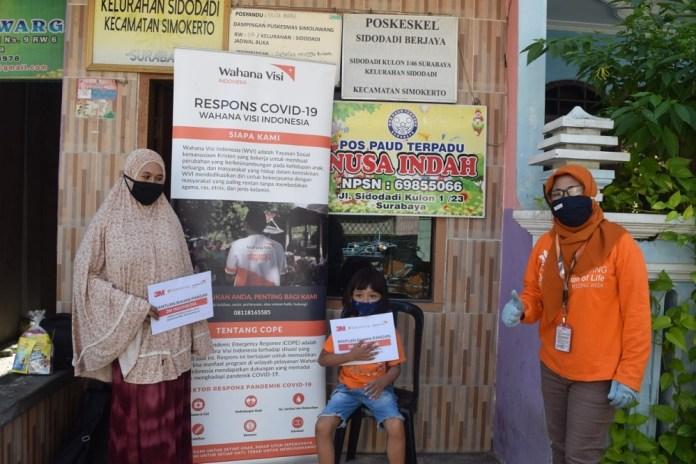 3M Gelontorkan Bantuan Pangan US$10.000 untuk Masyarakat Rentan Dampak Terburuk Covid-19