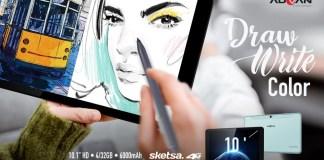 Advan Luncurkan Tablet Sketsa Premiun 10 Inch Lengkap dengan Stylus