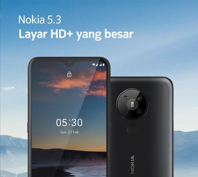 Nokia Luncurkan Nokia 5.3 di Pasar Indonesia