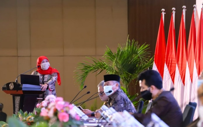 Gubernur Khofifah Minta Bupati/Walikota Maksimalkan Serapan Belanja APBD 2020
