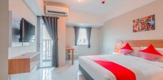 Kamar hotel OYO
