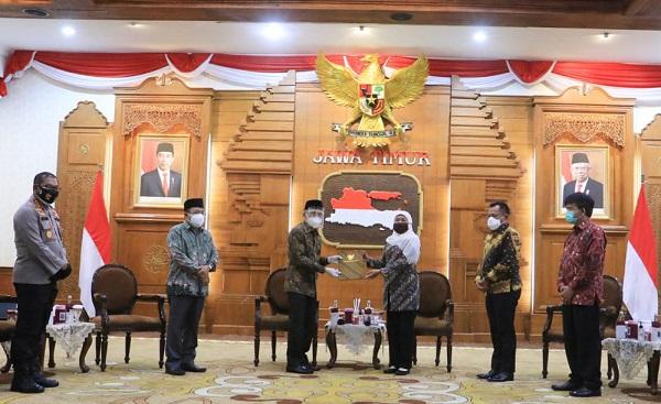 Gubernur Khofifah Tunjuk Sekda Kabupaten Sidoarjo jadi Plh Bupati