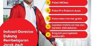 Indosat Ooredoo Terus Komitmen Dukung Program PJJ