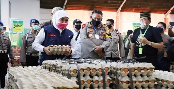 Lumbung Pangan Jatim Gratiskan Sembako untuk 75 Pelanggan
