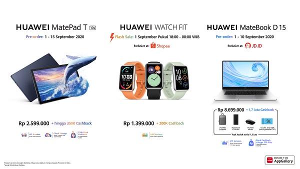 Huawei Luncurkan Rangkaian Produk Barunya