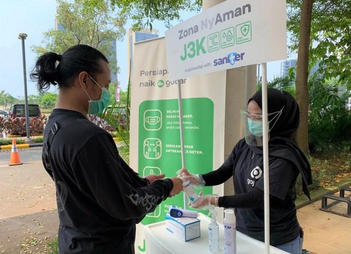 Saniter Jalin Kerjasama dengan Gojek Dukung Program J3K