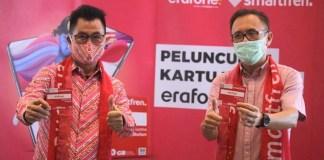 Smartfren menggandeng Erajaya Group luncurkan Kartu Perdana Smartfren Erafone