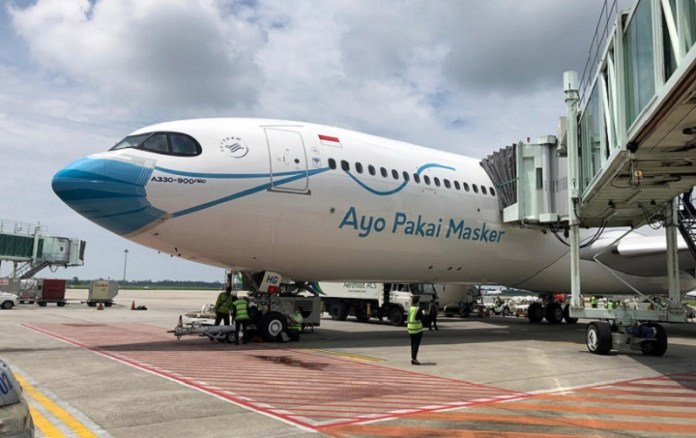 Garuda Indonesia Buka Tiga Rute Domestik Baru