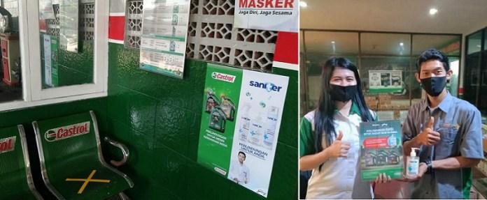 Saniter Gandeng Castrol untuk Wujudkan #IndonesiaTerlindungi