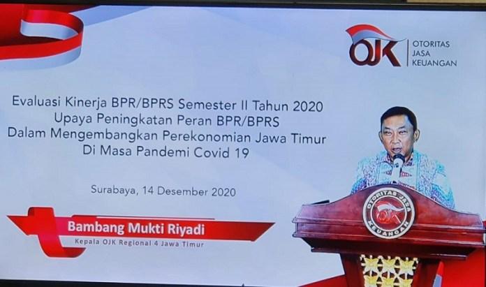 OJK Regional 4 Lakukan Evaluasi Kerja BPR BPRS Semester II 2020. Ini Hasilnya