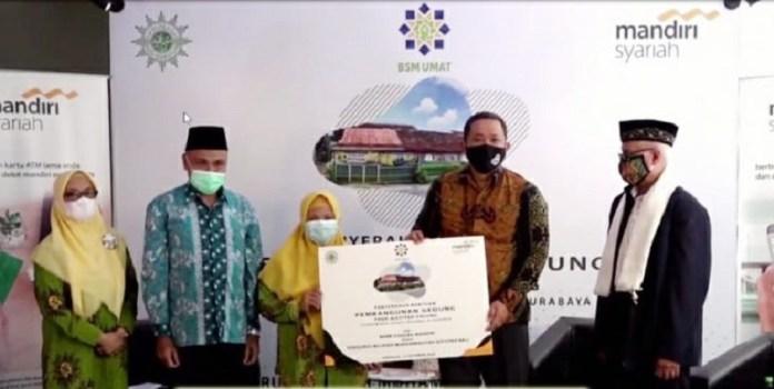 Mandiri Syariah dan Muhammadiyah Bangun Gedung Sekolah Untuk Pendidikan Anak Usia Dini