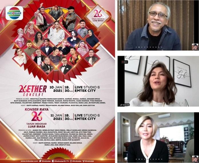 Perayaan HUT 26 Indosiar Janjikan Tampilan Spektakuler dengan Hadiah Ratusan Juta