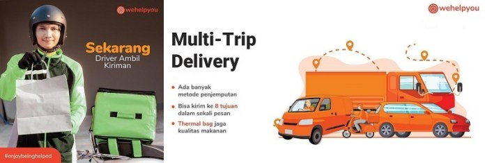 Sambut #AwalBaru, Help Delivery Ganti Nama jadi Wehelpyou