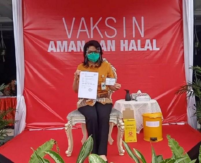 BPJS Kesehatan Surabaya Ajak Masyarakat Sukseskan Vaksinasi Covid-19