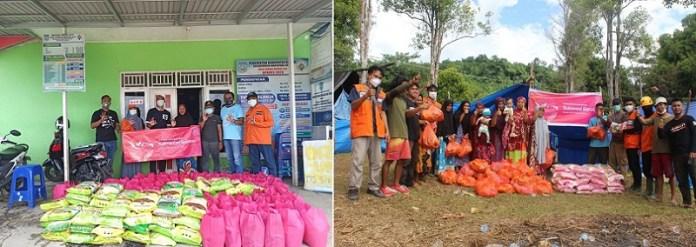3 Indonesia Salurkan Bantuan Untuk Korban Bencana Banjir Kalsel dan Gempa Sulbar