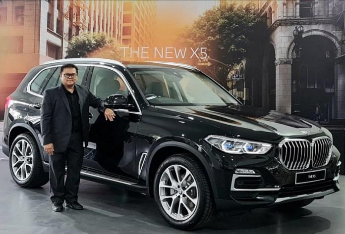 BMW Kenalkan New BMW X5 yang Lebih Kaya Fitur