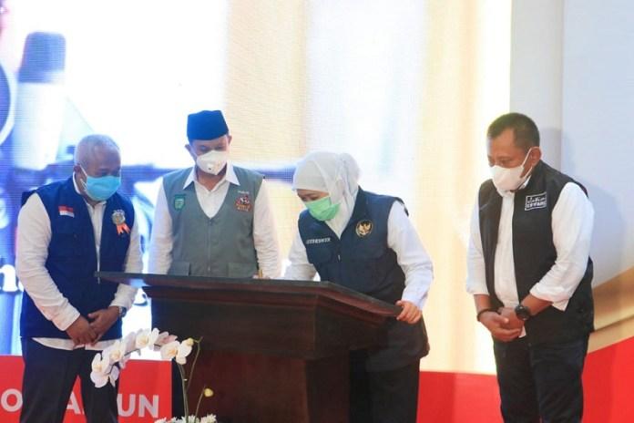 Gubernur Khofifah Resmikan Trauma Centre dan Intensive Care RSUD. dr. Soedono Madiun