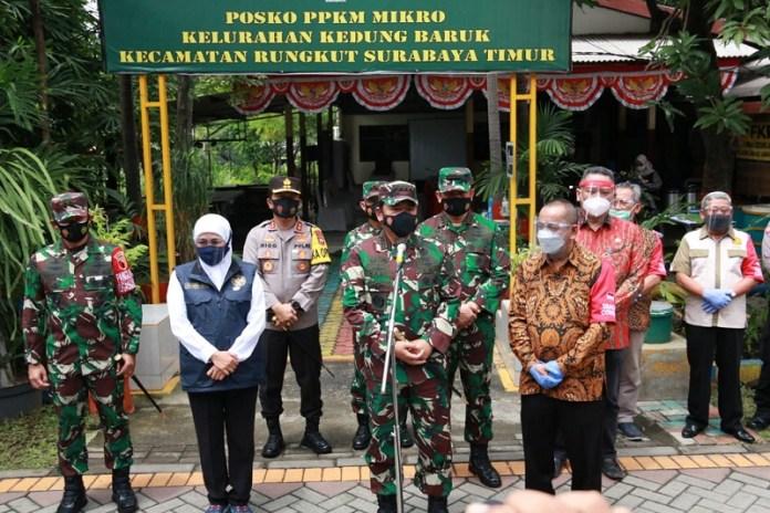 Panglima TNI Intruksikan Perketat Prokes di Wilayah RT Zona Merah