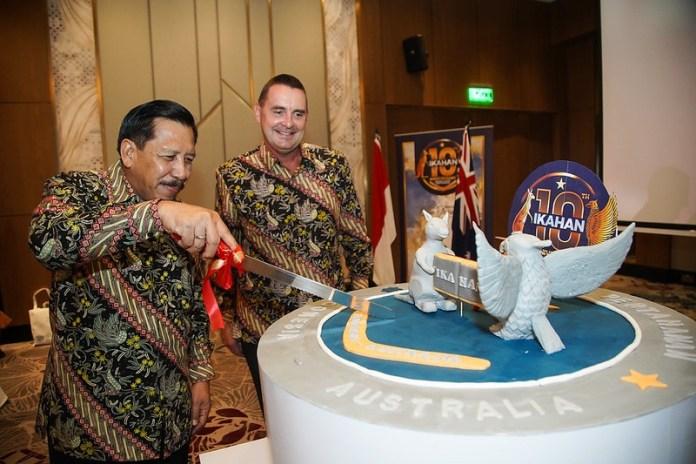 Ikatan Alumni Pertahanan Australia-Indonesia Rayakan 10 Tahun